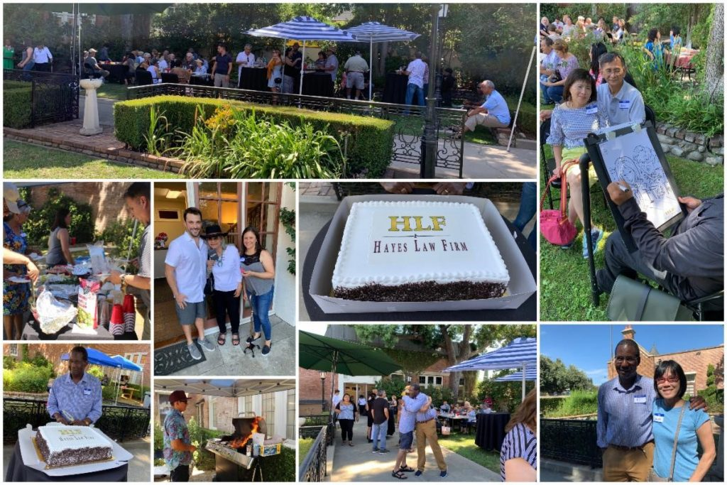 Summer Client Appreciation BBQ 2019 - Hayes Law Firm