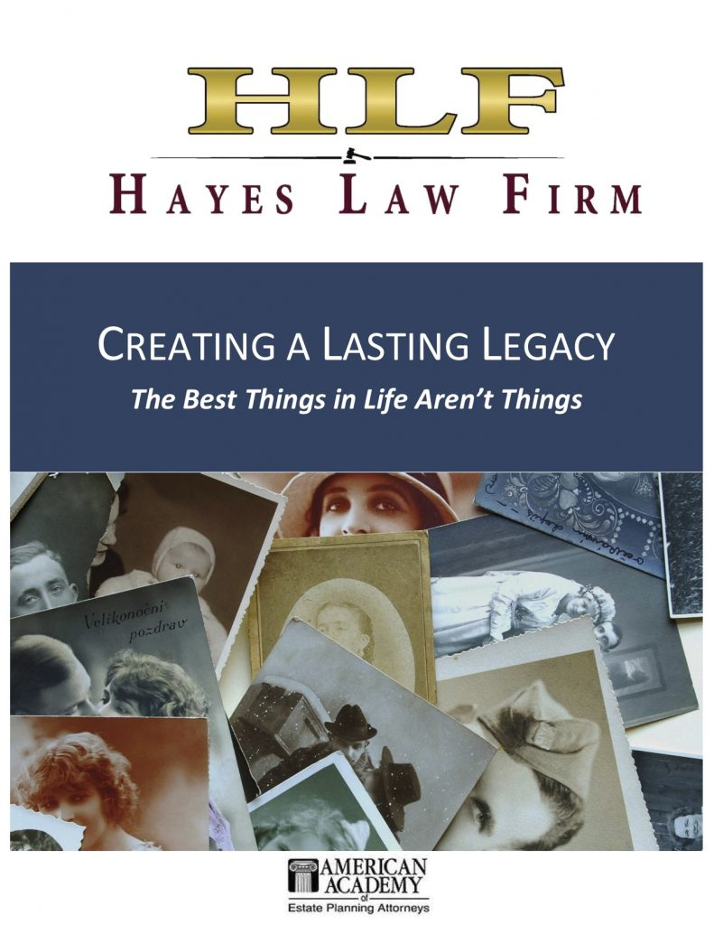Creating a Lasting Legacy