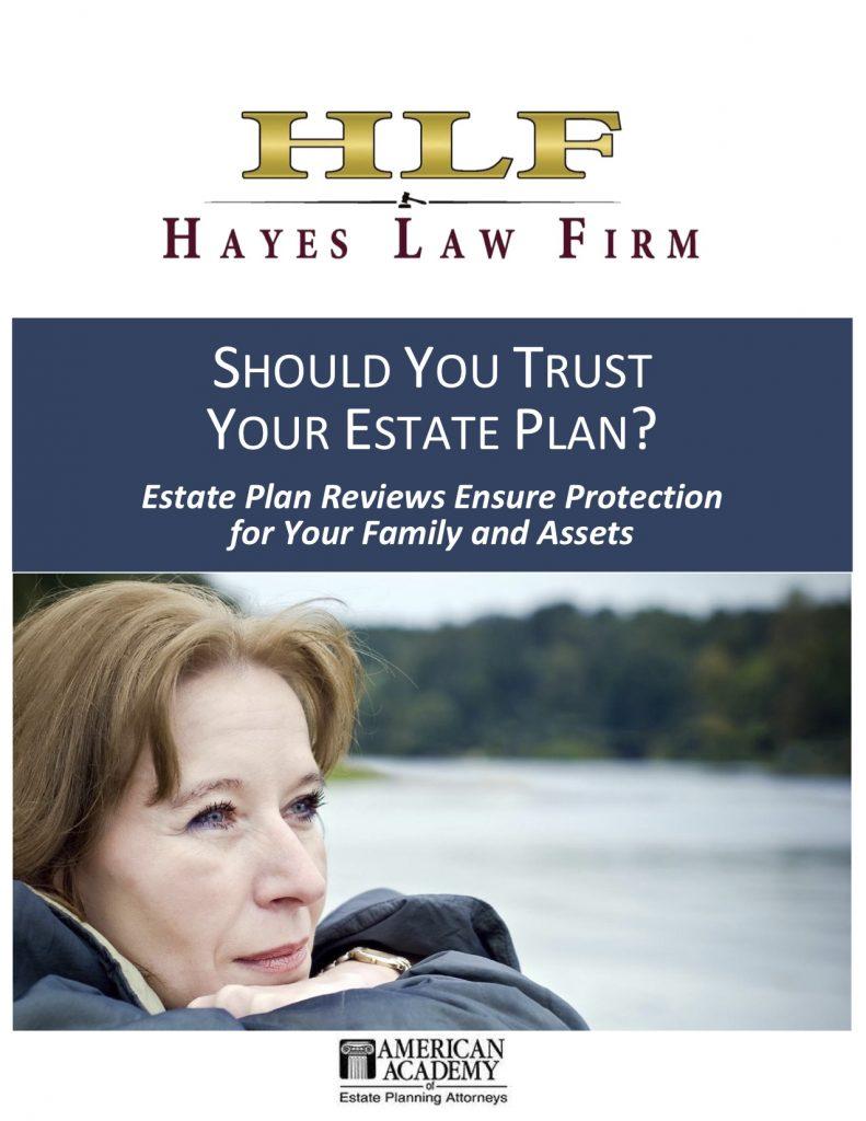 Should You Trust Your Estate Plan
