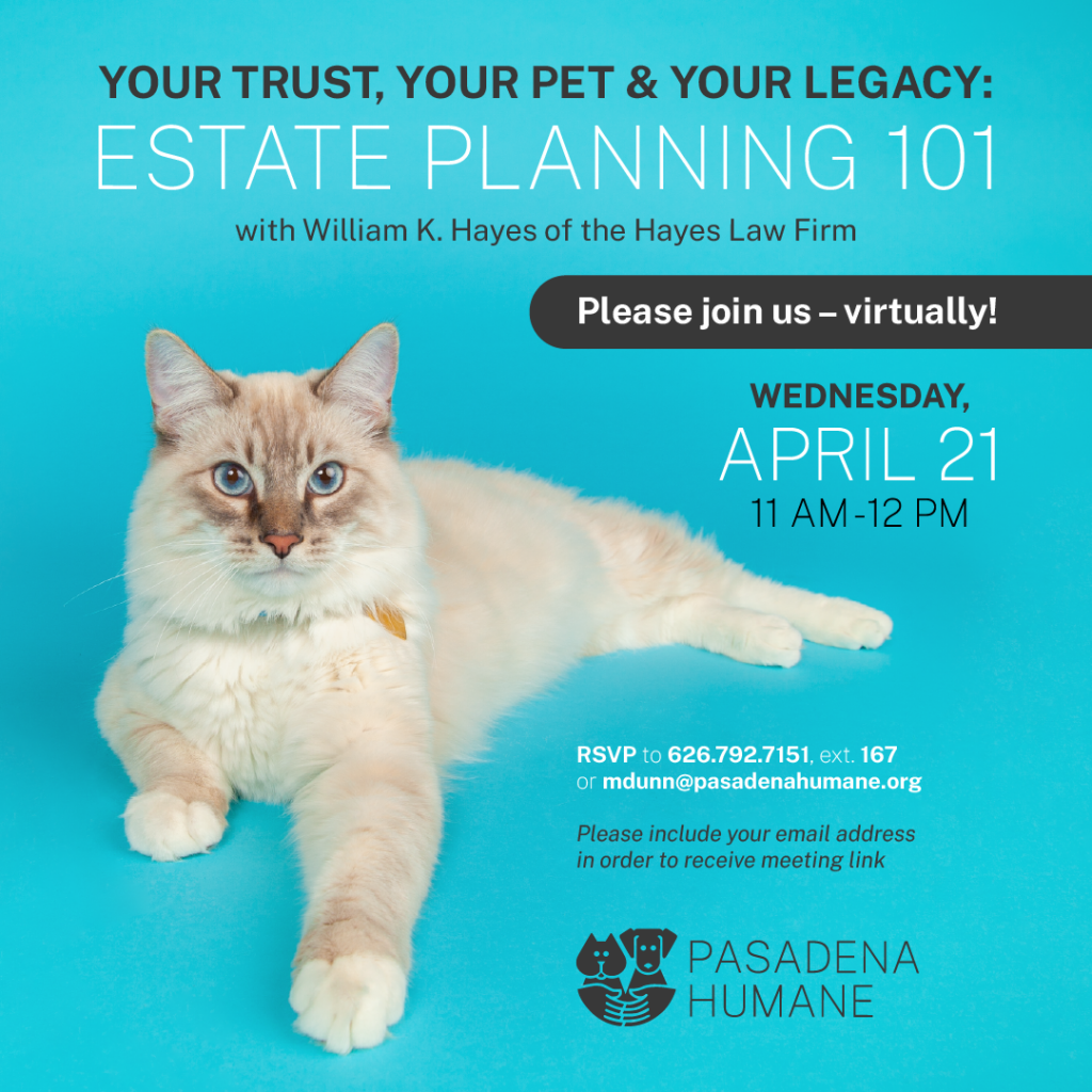Your Pet Your Trust & Your Legacy